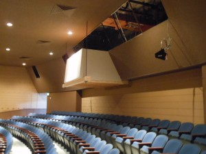 Flegel Building Contractors, Inc new sound booth