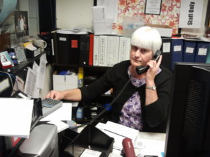 Box Office Coordinator Rebecca Answers the Phone