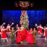 Cast of White Christmas at Spokane Civic Theatre