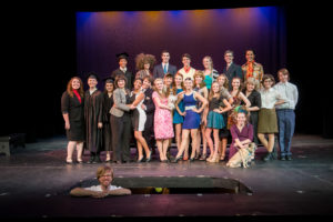 "The hardworking, energetic Academy cast of ""Legally Blonde, The Musical"" at Spokane Civic Theatre"